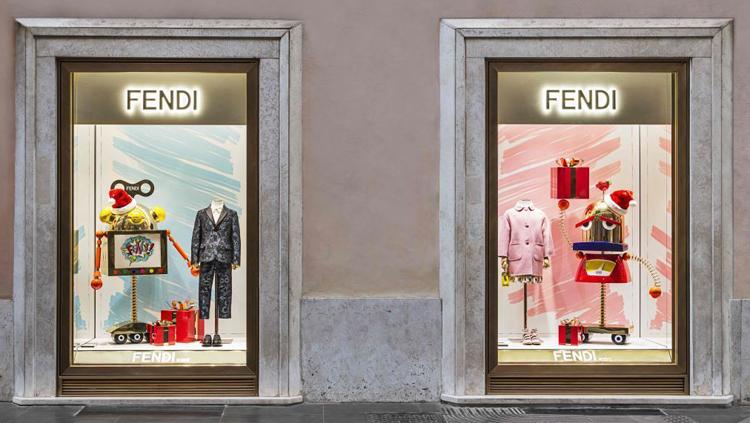 Fendi, primo store dedicato al bambino