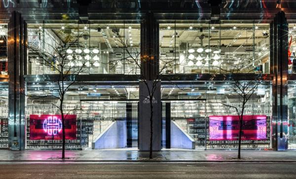 Adidas, a New York lo store più grande