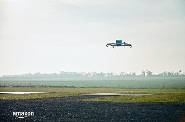 Amazon, prima consegna con un drone