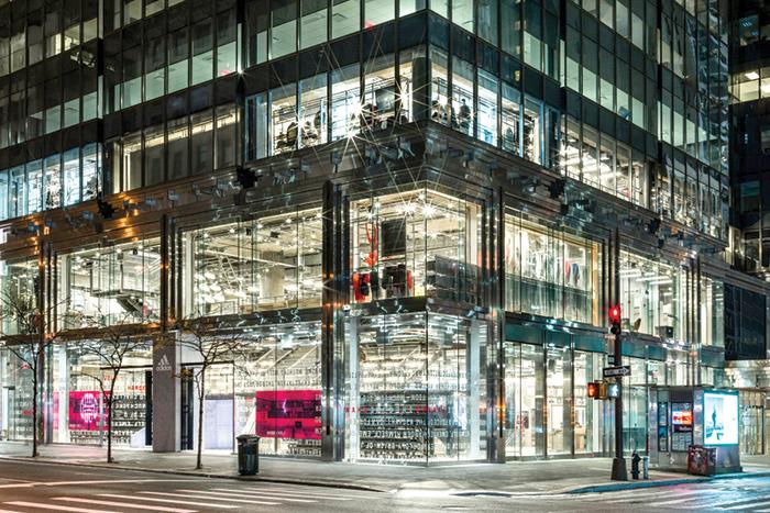 Il nuovo store di Adidas sulla Fifth Avenue a New York