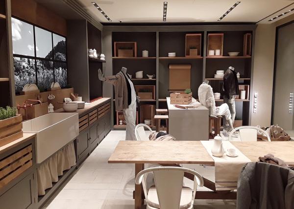 Cucinelli apre store (con cucina) in Montenapo