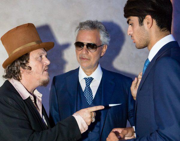 Stefano Ricci festeggia con Bocelli i 45 anni