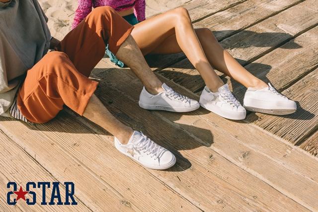 Prima campagna pubblicitaria per le sneakers 2Star