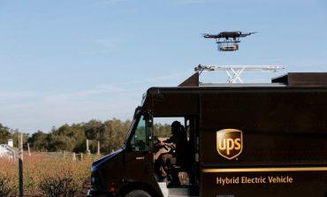 Ups testa la consegna con un drone