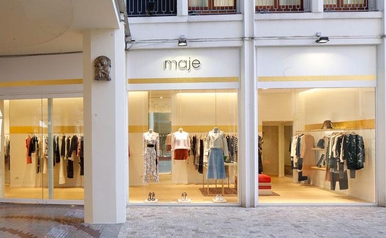 Maje, prima boutique a Milano