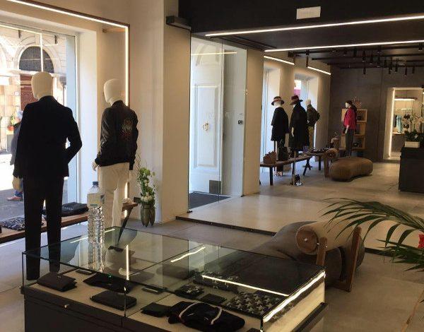 Riapre la boutique Fagni a Pistoia