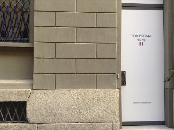 Thom Browne apre primo monomarca a Milano