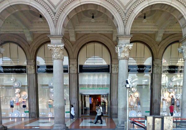 Benetton rimarrà in Piazza Duomo
