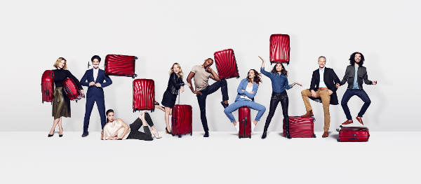 "Samsonite lancia la campagna ""For the serious traveller"""