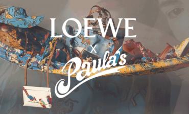 Loewe a Ibiza per capsule con Paula's