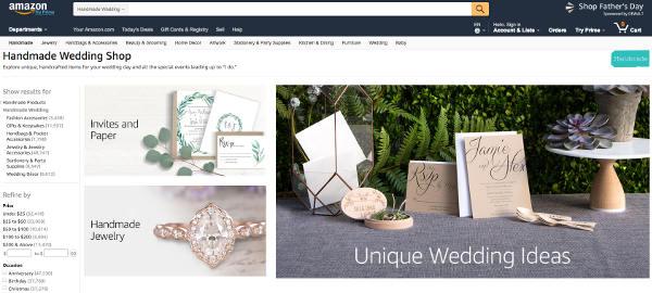 Amazon vuole conquistare le spose