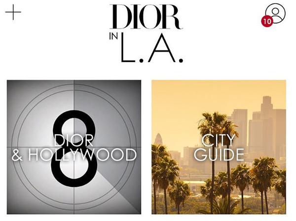 Vai alla Cruise di Dior? Scaricati la app