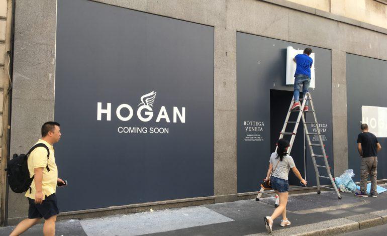 Hogan riparte con nuovo store in Montenapo