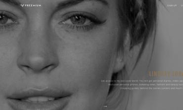 Lindsay Lohan lancia il sito-diario Preemium