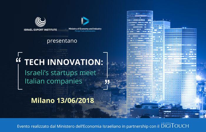 L'innovazione made in Israel arriva a Milano