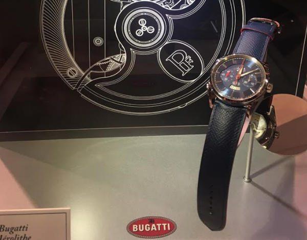 Parmigiani Fleurier presenta Bugatti Aérolithe Performance