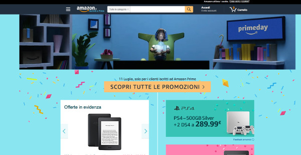 Amazon, al via il Prime Day (con polemiche)