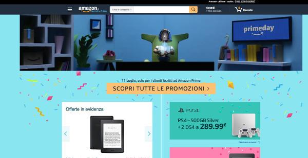 Amazon, al via il Prime Day (con polemiche)