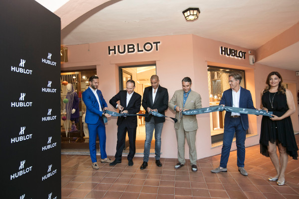 Hublot a Porto Cervo per la seconda boutique italiana