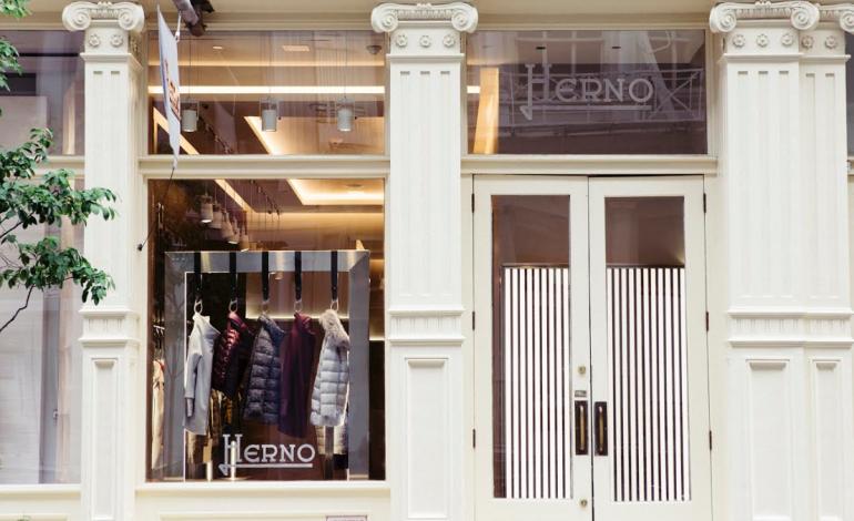 Herno, a New York il primo store americano