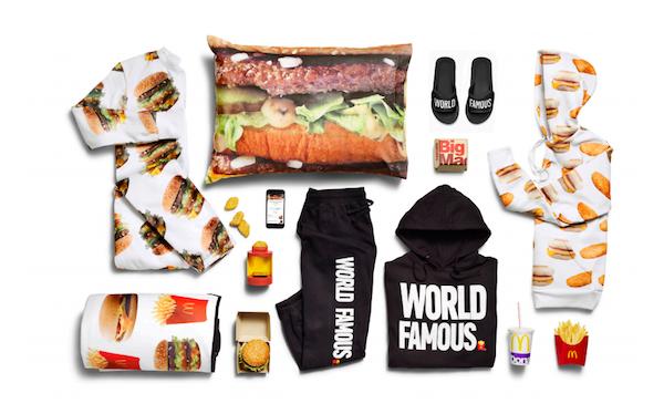 McDonald's, capsule moda (per un giorno)