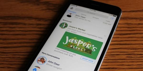Facebook fa adv in chat. E Snapchat affonda