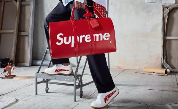 Vuitton-Supreme, pasticcio pop up in America