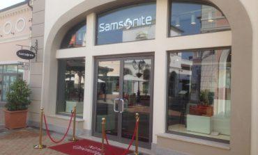 Samsonite apre nel Designer Outlet di Noventa di Piave 74b2802a538
