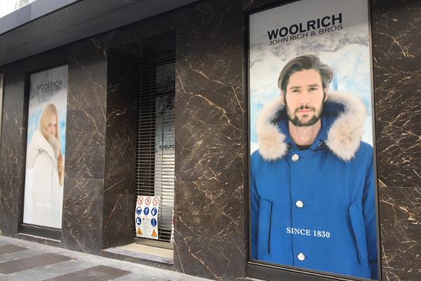 Woolrich in Corso Venezia al posto di Prada
