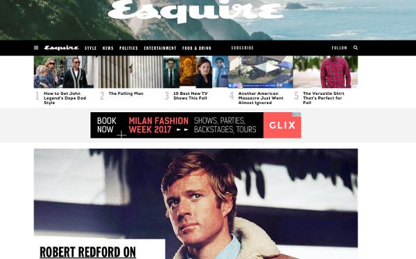 Hearst a ottobre lancia Esquire in Italia