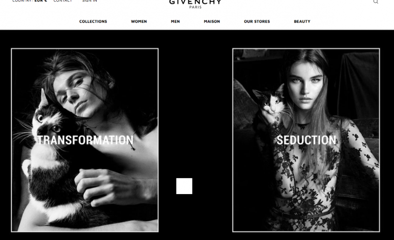 Givenchy debutta nell'e-commerce