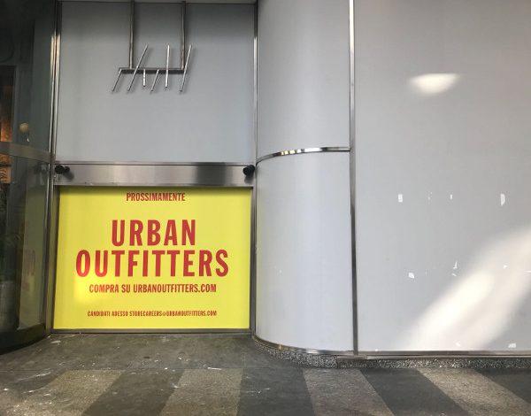 Urban Outfitters sbarca in Italia a San Babila