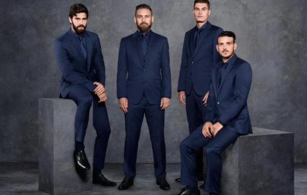 Hugo Boss nuovo fashion partner della Roma