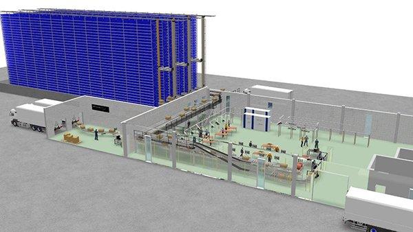 Space 2000, al via i lavori del nuovo magazzino verticale