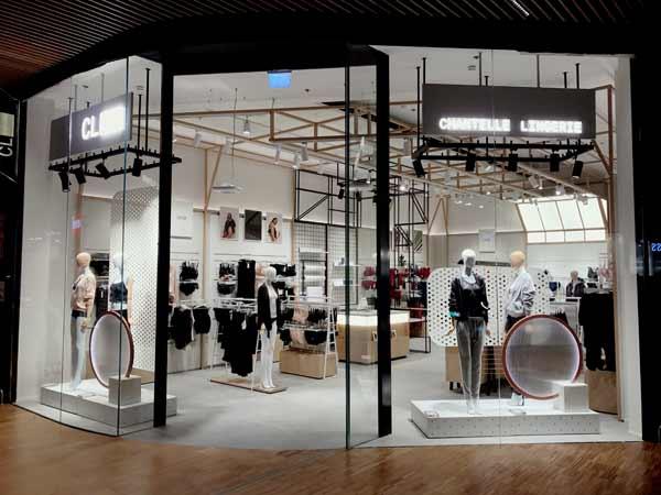 Chantelle, a Milano il primo concept store