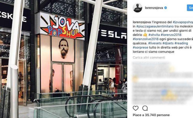 Jovanotti lancia un temporary a Milano