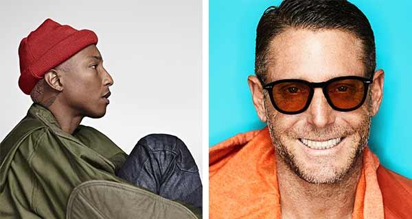 Lapo e Pharrel insieme per una linea eyewear e moda