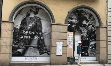 Balmain, primo store italiano nel Quadrilatero