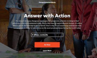Patagonia lancia spazio digital per la sostenibilità