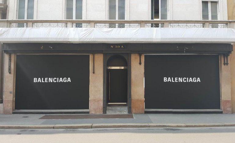 Anche Balenciaga arriva in Montenapoleone