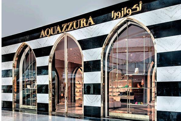 Aquazzura conChalhoub per il Middle East