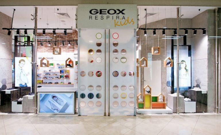 Geox, a Mosca il primo store kidswear