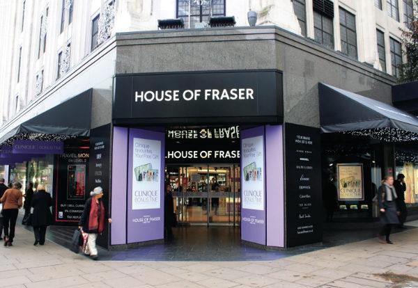 House of Fraser, cambio di proprietario cinese