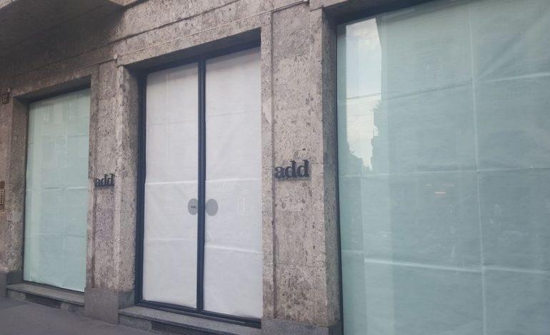 Add chiude in Corso Venezia