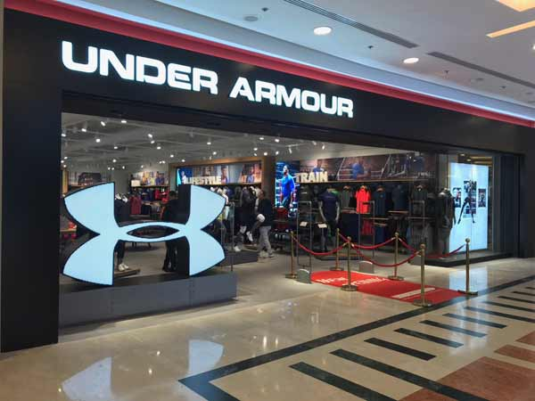 Il Nord America fa crollare Under Armour in Borsa