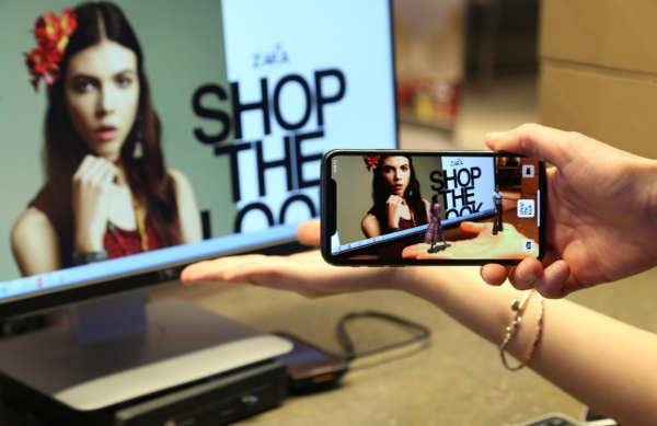 Zara come realtà aumentata. In Italia, in 5 negozi