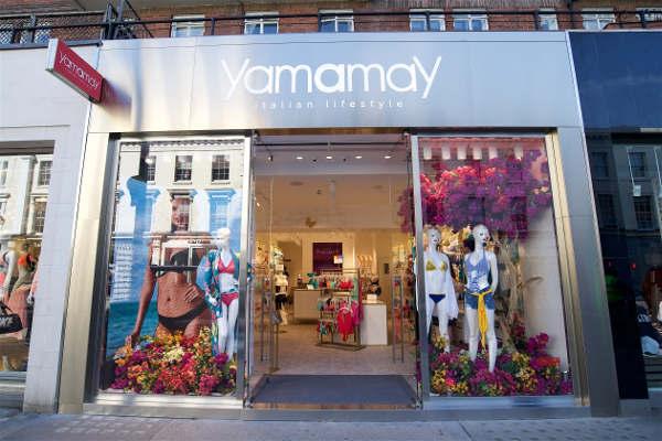 Yamamay apre il primo store a Londra