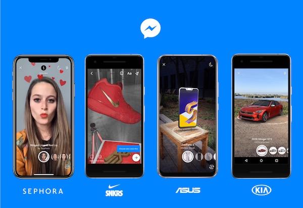 In Facebook si fa shopping con la realtà aumentata