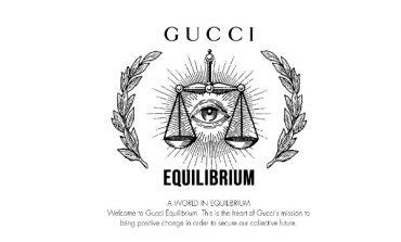 Gucci lancia Equilibrium, portale sostenibile