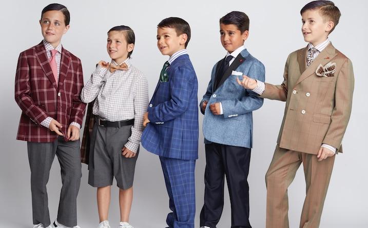 Isaia esordisce nel childrenswear